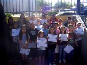 Mountain Vista School in Oracle has announced its superstar Students of the Month for November. Pictured are, from left: (back) Alexis Moreno, Latissia Garcia, Matthew Peru, Leslie Mendez, Hunter Cole; (third row) Leanie Sanchez, Libby Muniz, Tony Smith, Chance Stonecipher, Mia Machado, Tamara Cano, Chyenne Valdez; (second row) Yasmine Goga, Isaiah Gamez, Isaiah Woods, Briana Castellanos, Sean Lane; (front) Arianna Guerrero, Nora Huckaby, Keira Boulware, Cassandra Blake, Stephen Craig. Congratulations! (Submitted photo)