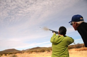 Photo by Kristin Terpening of AZGFD taken at a similar event in February of 2013 at the Three Points shooting range.