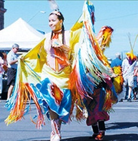 The Yellow Bird Dancers are a tradition at the Apache Jii celebration