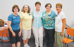 Saddlebrooke and Oro Valley Ladies donate time to teach sewing.tif