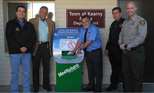 Kearny drug box dedication.JPG
